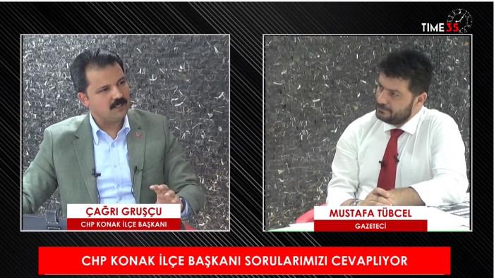 İzmir'de Sabah programının Konuğu CHP Konak İlçe Başkanı Çağrı Gruşçu