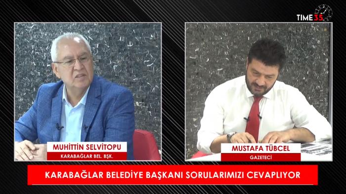 Karabağlar Belediye Başkanı Muhittin Selvitopu İzmir'de Sabah Haberlerinin Konuğu