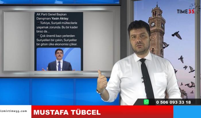 Mustafa Tübcel, AKP eski Gen. Bşk. Yrd. Prof. Dr. Yasin Aktay, Sözlerine sert Karşılık Verdi