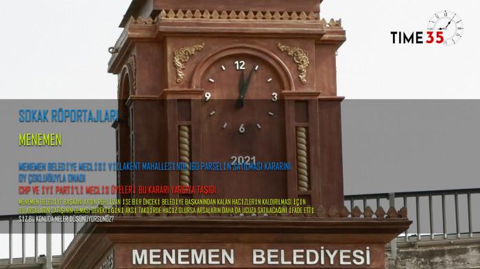 Menemen Halkı Seyrek'teki Arsaların Satış Kararını Değerlendirdi